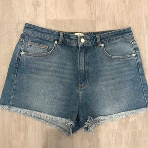 French Connection High Waisted Shorts